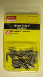 99040908 MICRO TRAINS / {99040908} Road Bed Joiners TWO DOZEN  (SCALE=Z)  YANKEEDABBLER  PART #  = 489-99040908