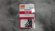 302000 MICRO TRAINS / {003 02 000} ARCH BAR TRUCKS (1011) W/O COUPLERS-  (SCALE=N)    - YANKEEDABBLER  PART #  = 489-302000