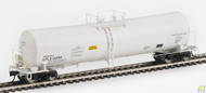 100244 Walthers Proto / 54' 23K Tnk UTLX#14856 wh  (SCALE=HO)  Part # 920-100244