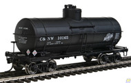 100515 Walthers Proto / ACF 10K Tnk CNW #10165  (SCALE=HO)  Part # 920-100515