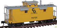 Walthers Proto / 25' Wd Caboose C&O #90725  (SCALE=HO)  Part # 920-103158