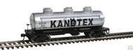 Walthers Mainline / 3Dm Tank Car Kanotex #879  (SCALE=HO)  Part # 910-1101