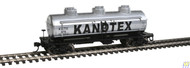 Walthers Mainline / 3Dm Tank Car Kanotex #876  (SCALE=HO)  Part # 910-1102