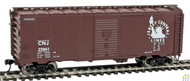 1689 Walthers Mainline / 40' 44 AAR Bx CNJ #22861  (SCALE=HO)  Part # 910-1689