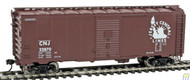 1690 Walthers Mainline / 40' 44 AAR Bx CNJ #22870  (SCALE=HO)  Part # 910-1690