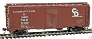Walthers Mainline / 40' 44 AAR Bxcr C&O 14020  (SCALE=HO)  Part # 910-1692