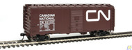Walthers Mainline / 40' AAR Bxcr CN #525309  (SCALE=HO)  Part # 910-1766