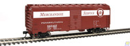 Walthers Mainline / 40' AAR Bxcr PRR #567427  (SCALE=HO)  Part # 910-1769