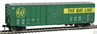 Walthers Mainline / 50' ACF Bxcr ASAB #7102  (SCALE=HO)  Part # 910-2127