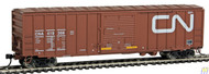 Walthers Mainline / 50' ACF Bxcr CN #419398  (SCALE=HO)  Part # 910-2130