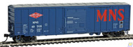 Walthers Mainline / 50' ACF Bxcr MN&S #49705  (SCALE=HO)  Part # 910-2131