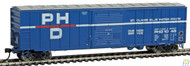 Walthers Mainline / 50' ACF Bxcr PH&D #1048  (SCALE=HO)  Part # 910-2134