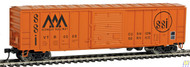 Walthers Mainline / 50' ACF Bxcr VTR #4008  (SCALE=HO)  Part # 910-2135