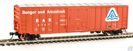 Walthers Mainline / 50' ACF Bxcr BAR #5747  (SCALE=HO)  Part # 910-2140