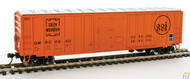2143 Walthers Mainline / 50' ACF Bxcr GMRC #0640  (SCALE=HO)  Part # 910-2143