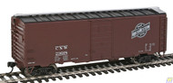 Walthers Mainline / PS1 Bxcr CNW #23018  (SCALE=HO)  Part # 910-2351