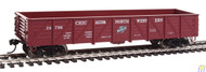 Walthers Mainline / 40' Drp-Btm Gon CNW#24796  (SCALE=HO)  Part # 910-5675