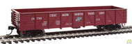 Walthers Mainline / 40' Drp-Btm Gon CNW#24799  (SCALE=HO)  Part # 910-5676