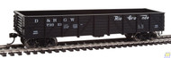 Walthers Mainline / 40' Drp-Btm Gon DRGW73313  (SCALE=HO)  Part # 910-5677