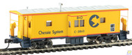 Walthers Mainline / Bay Wndw Cab CHESSIE#3863  (SCALE=HO)  Part # 910-8651