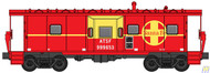 Walthers Mainline / Bay Wndw Cab ATSF #999653  (SCALE=HO)  Part # 910-8658