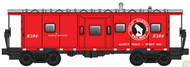 Walthers Mainline / Bay Wndw Cab GN #X-184  (SCALE=HO)  Part # 910-8660