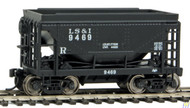 Walthers Mainline / 24' Tac Car LS&I #2 4/  (SCALE=HO)  Part # 910-58064