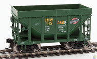 Walthers Mainline / 24' MI Tac CNW Grn #1 6/  (SCALE=HO)  Part # 910-58151