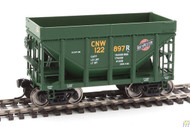 Walthers Mainline / 24' MI Tac CNW Grn #2 6/  (SCALE=HO)  Part # 910-58152