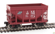 Walthers Mainline / 24' MI Tac CNW Brn #1 6/  (SCALE=HO)  Part # 910-58153