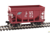 Walthers Mainline / 24' MI Tac CNW Brn #2 6/  (SCALE=HO)  Part # 910-58154