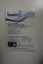 885012 Soundtraxx / Tsunami 2 Diesel Bald.& Oth. Set, 6-Function, Universal TSU-21PNEM (1 Amp) Digital Sound Decoders   (Scale=HO) Part # = 678-885012