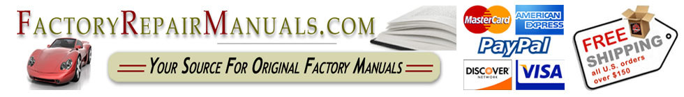 Factory Repair Manuals - Save Up To 65% Off!