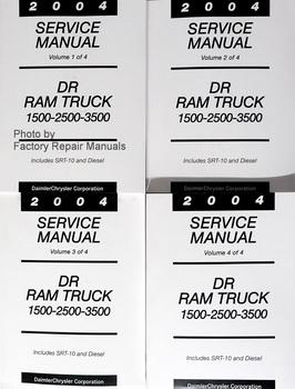 2004 Service Manual DR Ram Truck 1500-2500-3500