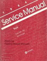 1984 Dodge D & W 100-350 RamCharger Service Manual