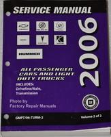 2006 GM Manual Transmission and Transfer Case Unit Repair Overhaul Manual