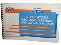1991 Chevy G Van Electrical Diagnosis & Wiring Diagram
