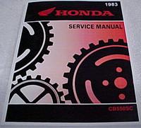 1983 Honda CB550SC NightHawk Service Manual