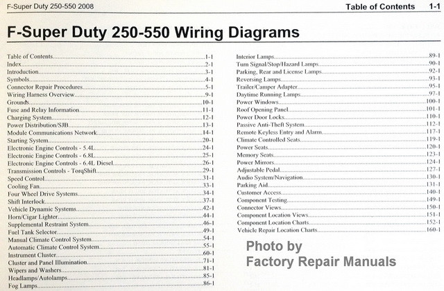 08_F250_550_ewd_toc__51375.1449853432.1000.1000?c=2 2008 ford f250 f350 f450 f550 super duty truck electrical wiring on f550 wiring diagram for 2008