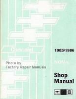 1985/1986 Chevrolet Nova Shop Manual