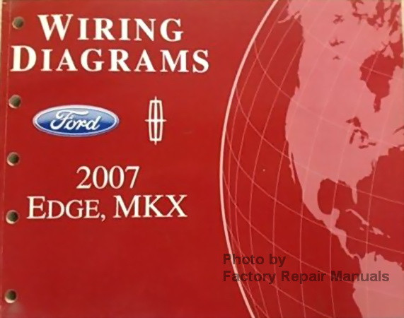 2007 ford edge and lincoln mkx electrical wiring diagrams wiring diagrams ford 2007 edge lincoln mkx