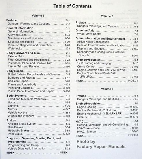 2015 Chevy Impala Factory Service Manual Set Original Shop