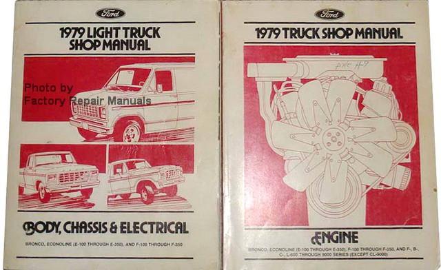 1979 Ford F100 F150 F250 Bronco Econoline Factory Shop