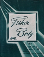 1969 Fisher Body Service Manual