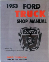 1953 Ford Truck Shop Manual