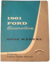 1961 Ford Econoline Shop Manual