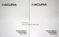 1990 Acura Integra Service Manual Volumes 1 and 2