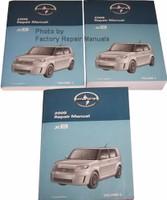 Scion 2008 Repair Manual xB Volume 1, 2 and 3