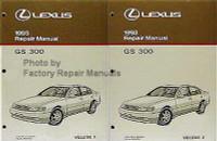 Lexus 1993 Repair Manuals GS 300