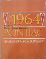 1963 Pontiac Chassis Shop Manual Supplement